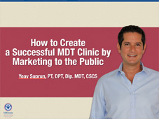 How to Create a Successful MDT Clinic by Marketing to the Public